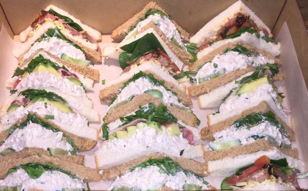 Lunch Sandwich Selection