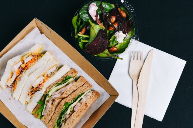 Salad and Sandwich Package