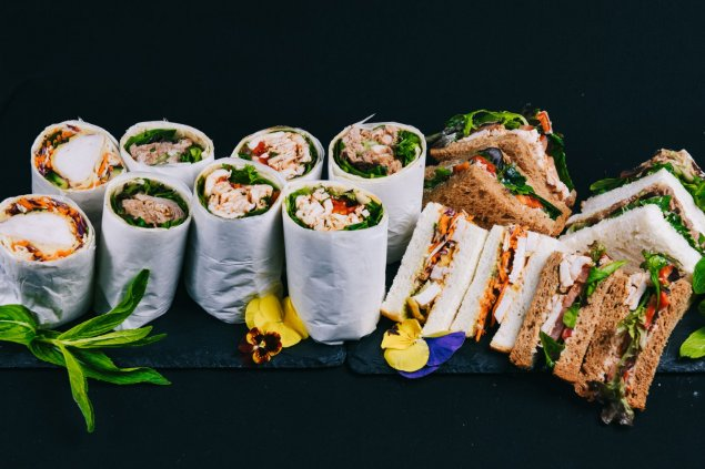 Lunch Platter, 8 sandwiches and wraps