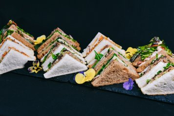 Triangle Platter, 6 Sandwiches