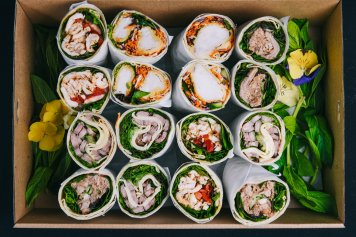 Lunch Wrap Platter, 6 wraps