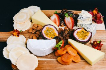 Cheese Board with 3 cheese selection