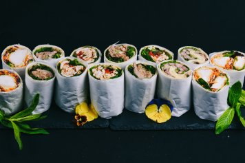 Large Gourmet Wraps