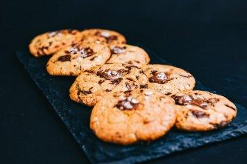 Mini Choc-Chip & Nutella Cookie