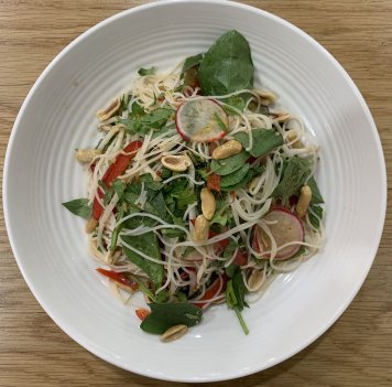 Asian Nam Jim Noodle Salad