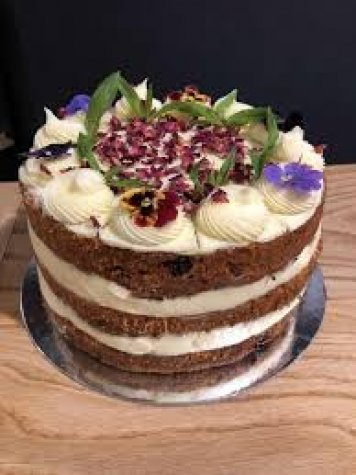 Carrot Cake made to order in Sydney CBD