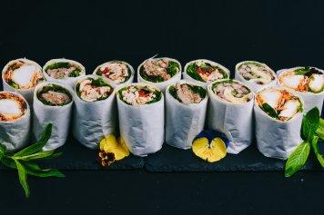 Large Gourmet Wraps - Gluten Free