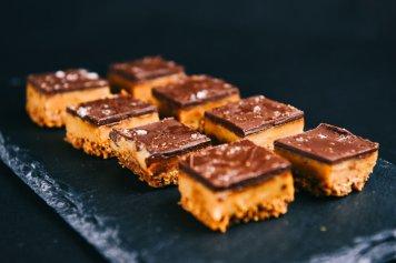 Caramel Slice Bites